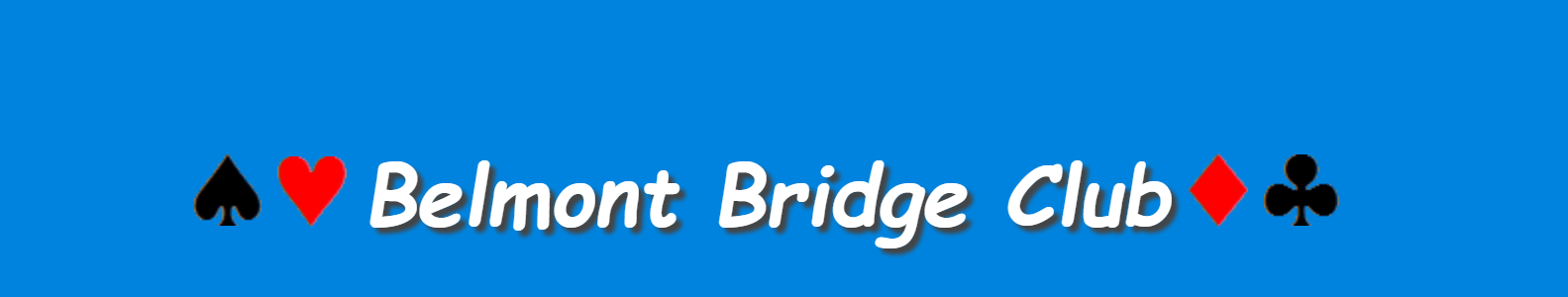 How to Register for Belmont Bridge Club Pairs Games
