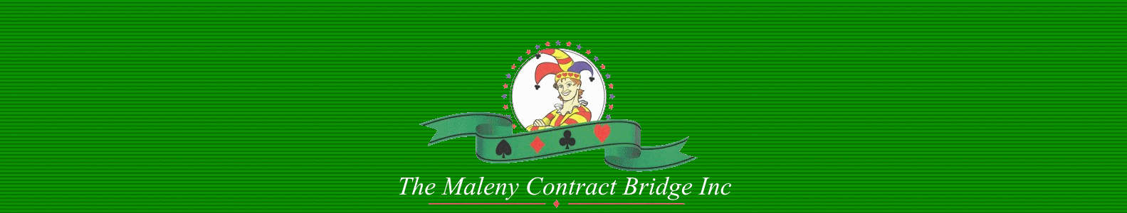 Results from Maleny Bridge Club games