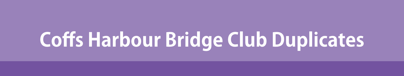 How to Register for Coffs Harbour Bridge Club Pairs Games