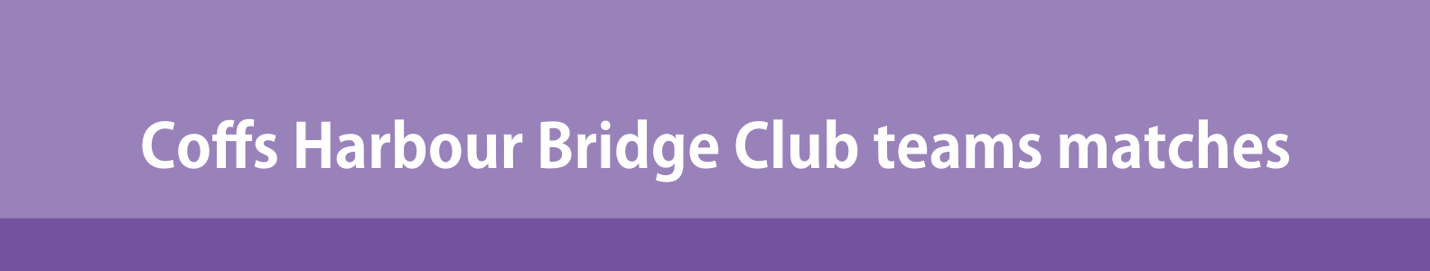 Paying for Coffs Harbour Bridge Club Team Events