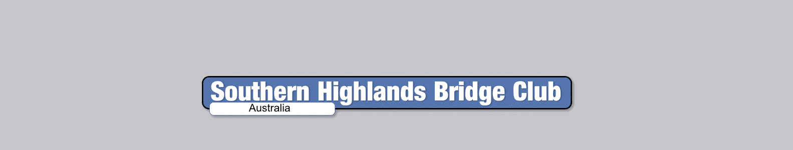 Southern Highlands Bridge Club Online Pairs Congress Information Page